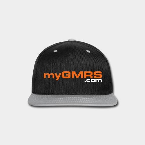 myGMRS.com Text Logo - Snap-back Baseball Cap