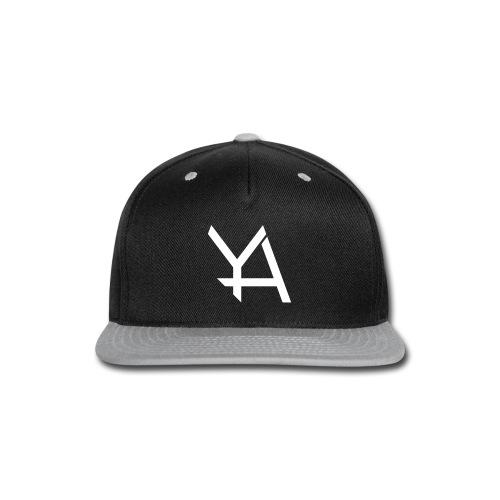 Young Adamant Black Logo - Snap-back Baseball Cap