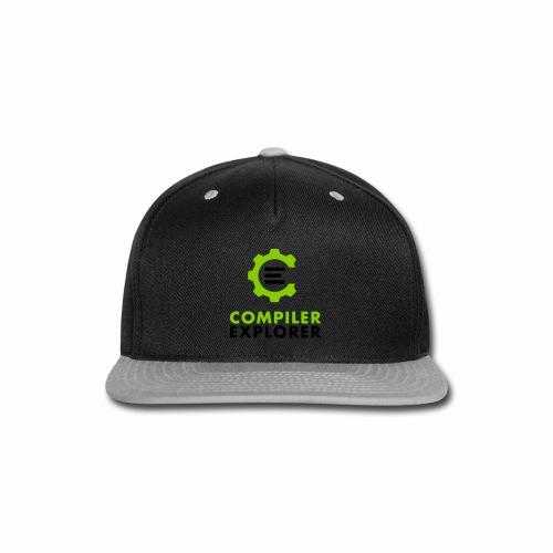 Logo and text - Snap-back Baseball Cap