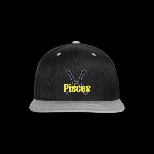 Pisces - Snap-back Baseball Cap