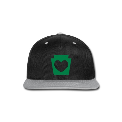 Love/Heart PA Keystone - Snap-back Baseball Cap