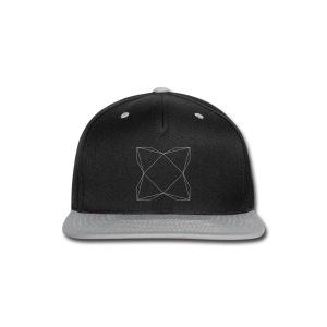 haxe logo outline - Snap-back Baseball Cap