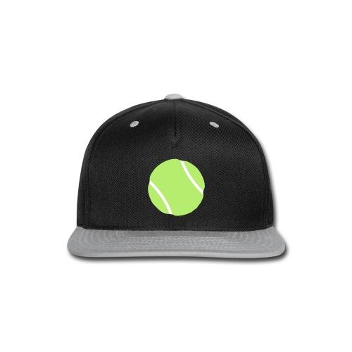 tennis ball - Snap-back Baseball Cap