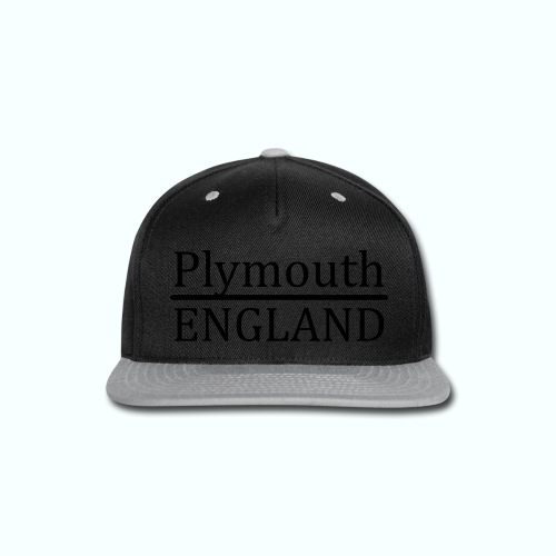 Plymouth England - Snap-back Baseball Cap