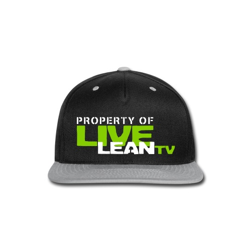 leanhat2 - Snap-back Baseball Cap