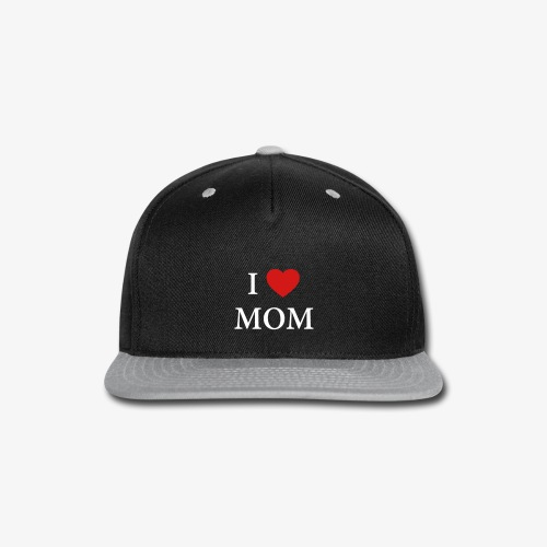 I LOVE DAD – HEART - Snap-back Baseball Cap