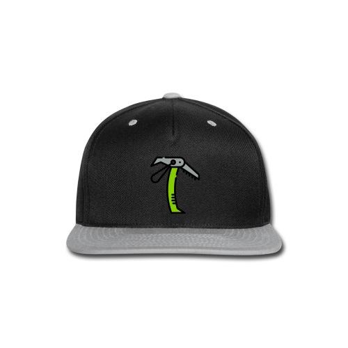 Ice Axe Vector - Snap-back Baseball Cap