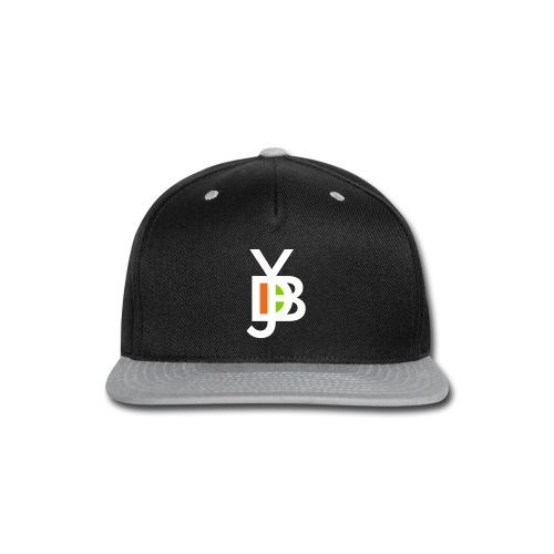 Jybd white 3 color - Snap-back Baseball Cap