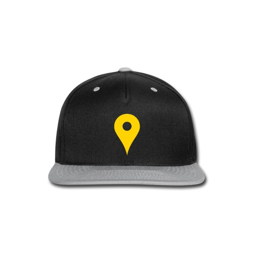 Map Pin - Snap-back Baseball Cap
