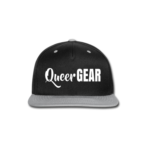 Queer Gear T-Shirt - Snap-back Baseball Cap