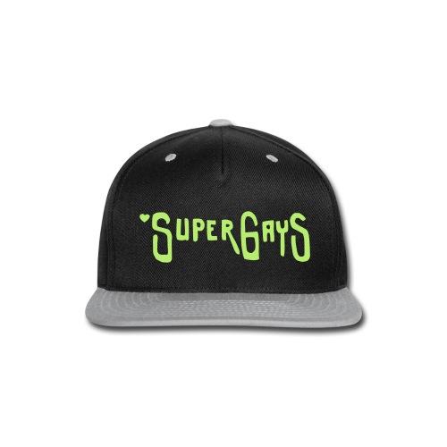 Super Gays - Snap-back Baseball Cap