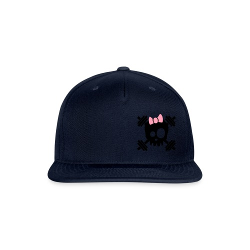 girl logo good - Snap-back Baseball Cap