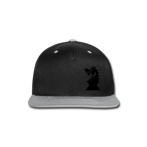 DA_mark_dark - Snap-back Baseball Cap