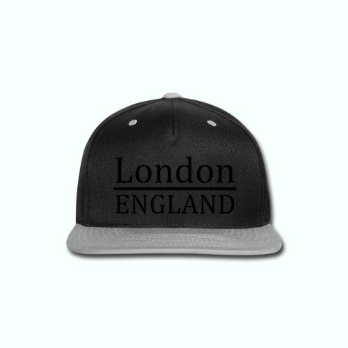 London England - Snap-back Baseball Cap