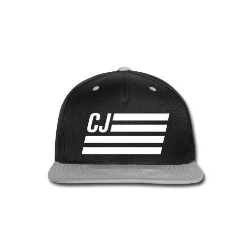 CJ flag - Autonaut.com - Snap-back Baseball Cap