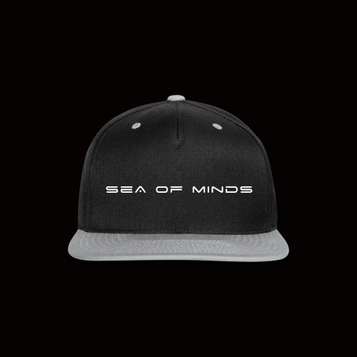Sea of Minds blanc - Snap-back Baseball Cap