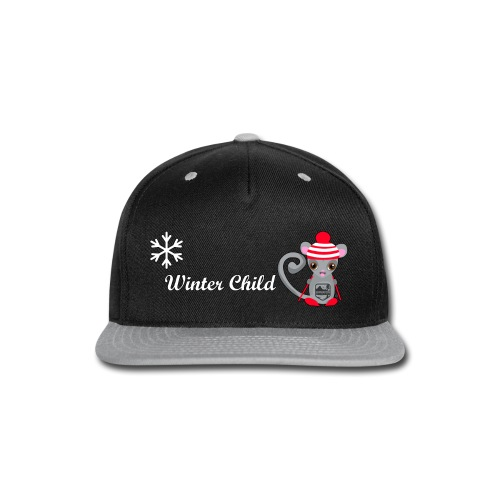 Mountain Winter Fairy - Snap-back Baseball Cap