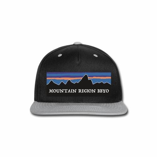 Mountain on Pat - Snap-back Baseball Cap