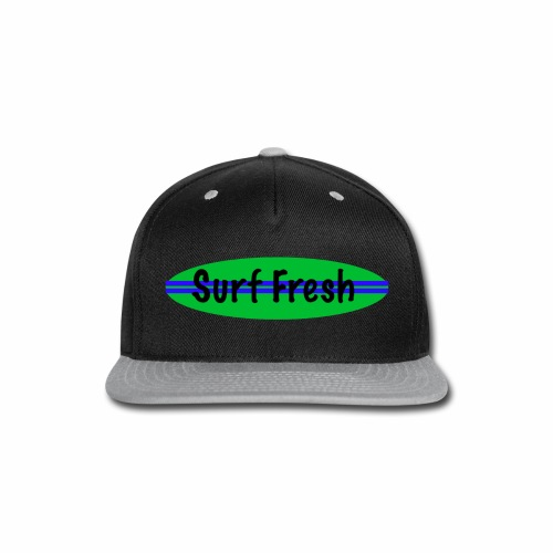 surf fresh - Snap-back Baseball Cap