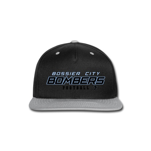 Bombers Football Logo - Snap-back Baseball Cap