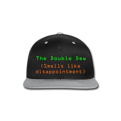 The Double Dew - Snap-back Baseball Cap