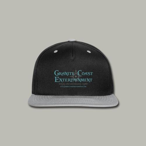 Baseball full GCE logo shirt - Snap-back Baseball Cap