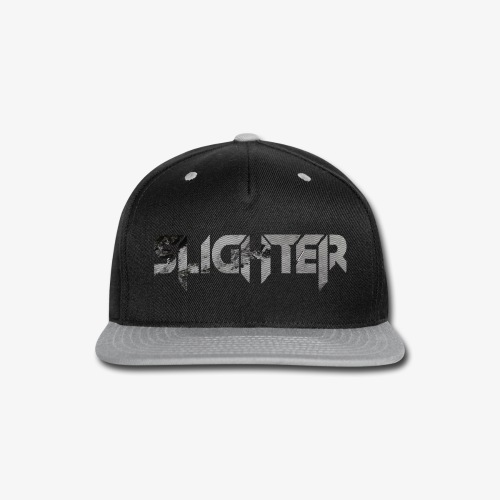 Slighter Line Glitch Logo - Snap-back Baseball Cap
