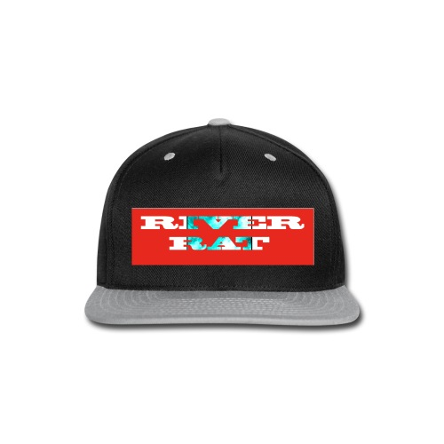 River rat - Snap-back Baseball Cap