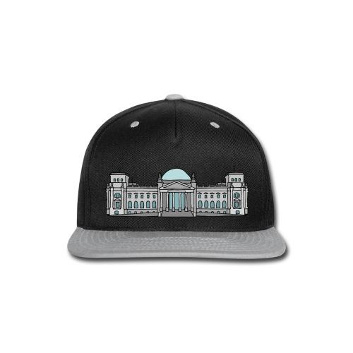 Reichstag building Berlin - Snap-back Baseball Cap
