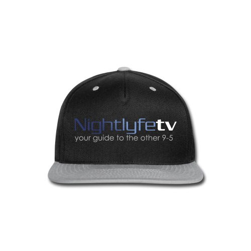 NTV Logo Full - Snap-back Baseball Cap