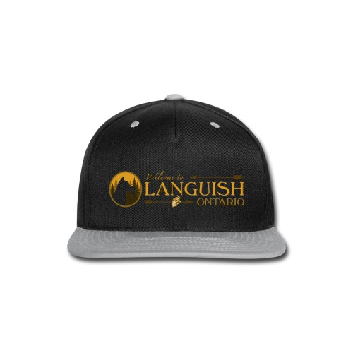Welcome to Languish - Snap-back Baseball Cap
