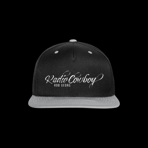 Radio Cowboy Merch - Front Design - Snap-back Baseball Cap