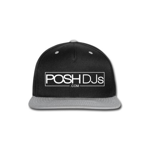 POSH DJs White Logo - Snap-back Baseball Cap