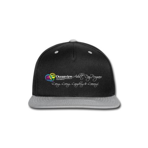 DAY PROGRAM LOGO WHITE - Snap-back Baseball Cap