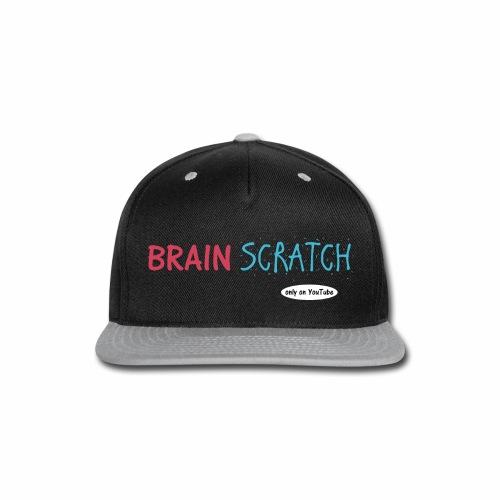 BrainScratch Original Logo - Snap-back Baseball Cap