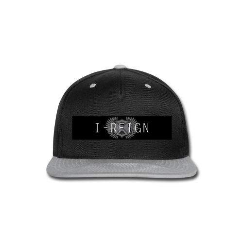 iREIGN Black Design - Snap-back Baseball Cap