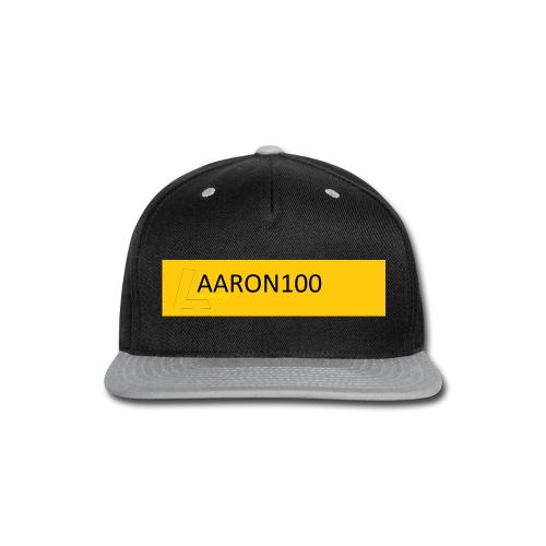 bold out gold AARON100 MERCHANDISE - Snap-back Baseball Cap