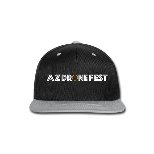 AZDroneFest text - Snap-back Baseball Cap