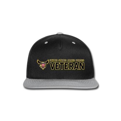 United States Armed Forces Veteran - Snap-back Baseball Cap