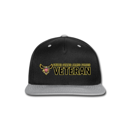 United States Armed Forces Veteran - Snap-back Baseball Cap