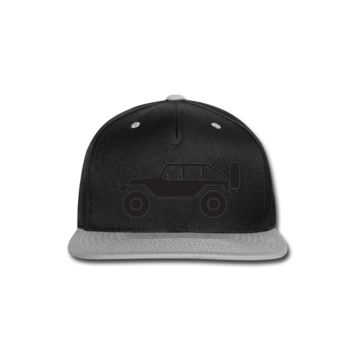 Off Road 4x4 Silhouette - Snap-back Baseball Cap