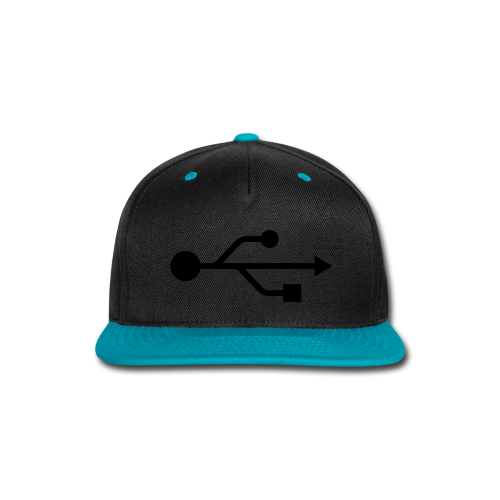 Small USB Logo Left Chest - Snap-back Baseball Cap