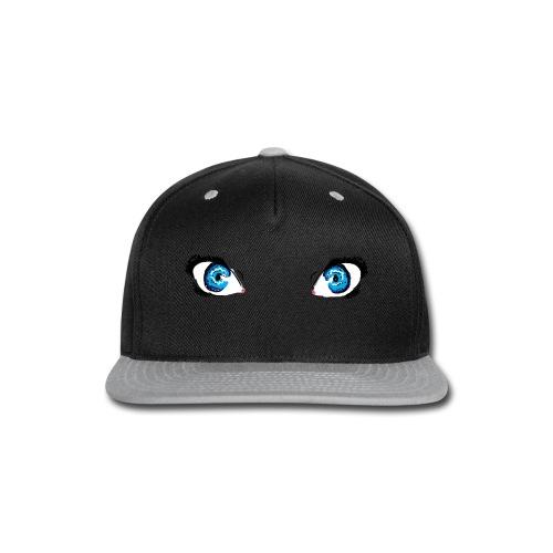 Glacier Blue Eyes - Snap-back Baseball Cap