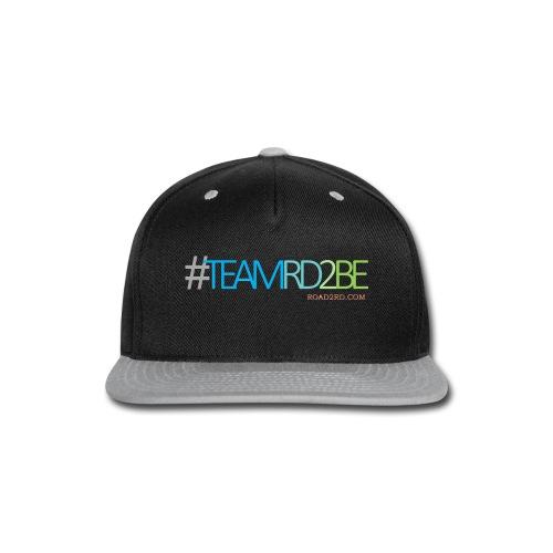 team rd2be transparent 2 png - Snap-back Baseball Cap