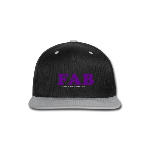 FAB Tank - Snap-back Baseball Cap