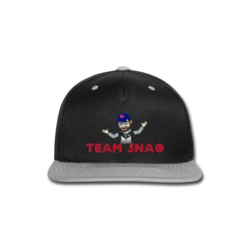 Team Snag Shirt - Snap-back Baseball Cap