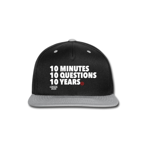 10 years - Snap-back Baseball Cap