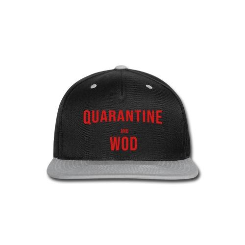 QUARANTINE & WOD - Snap-back Baseball Cap