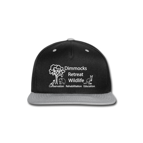 Dimmocks Retreat Wildlife Logo Apparel - Snap-back Baseball Cap