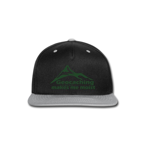 Geocaching in the Rain - Snap-back Baseball Cap